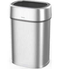 qualiazero 21 gallon open top trash can