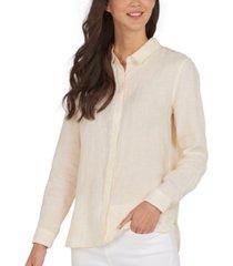 barbour marine linen shirt