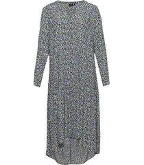 dress floral print v neck a line dresses everyday dresses svart zizzi