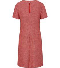 jurk korte mouwen van st. emile roze