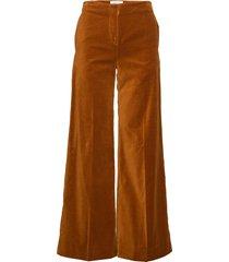 caren trousers 11114 wijde broek oranje samsøe samsøe