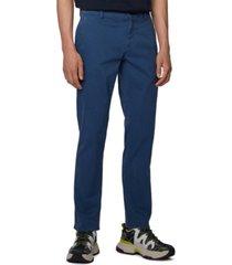 boss men's schino regular navy pants