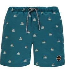 shiwi jongens zwembroek - icecream blauw-128