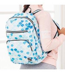 mochila coral estampado m.color para mujer croydon