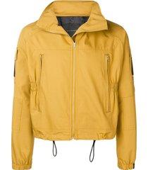 mackintosh 0004 mustard 0004 technical jacket - yellow