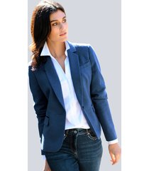 blazer alba moda royal blue