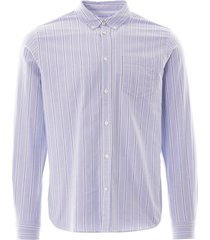 anton oxford shirt - pale blue n40-0456 7178