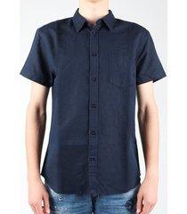 overhemd korte mouw wrangler s/s 1 pkt shirt w5860lo35