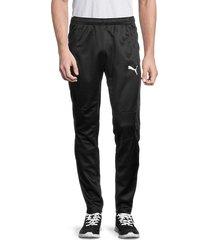 puma men's logo training pants - black - size xl