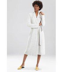 natori serenity robe, women's, beige, size s natori