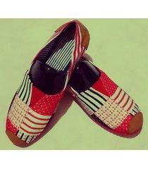 zapatillas boweipeiqi con retazos