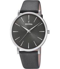 reloj festina modelo f20371/4 gris hombre