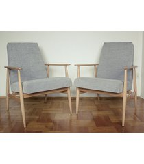 2 fotele lisek, fotel 300-190, proj. h. lis