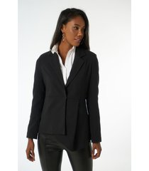 blazer jimmy sanders 19sdrw42076black jacket