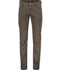 gardeur 5-pocket broek bruin bill-3