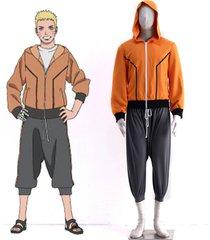 the last naruto the movie uzumaki naruto cosplay costume hoodie suit