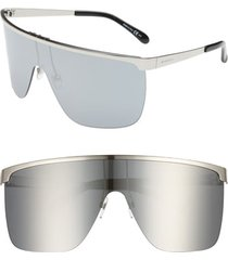 women's givenchy 70mm rimless shield sunglasses -
