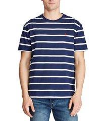 polera crew neck t-shirt azul polo ralph lauren
