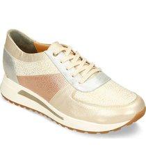zapatos casuales champaña oro rosa bata irene mujer