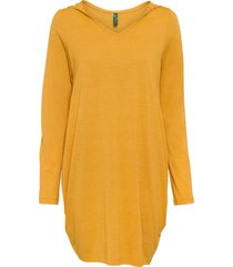 abito di jersey con cappuccio (arancione) - rainbow