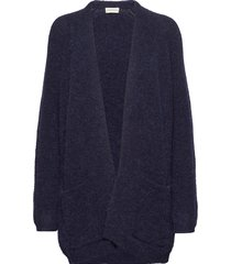belinta stickad tröja cardigan blå by malene birger