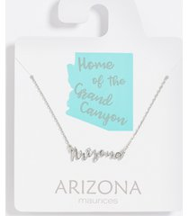 maurices womens dainty arizona necklace gray