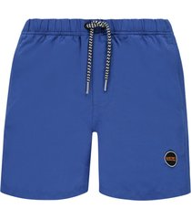 shiwi jongens zwembroek - solid mike blauw-128