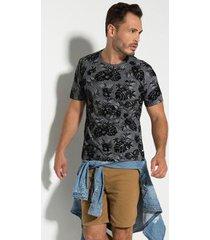 camiseta seeder floral masculina