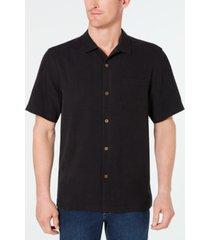 tommy bahama men's weekend tropics silk shirt, created for macy's