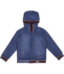 dolce & gabbana denim hoodie