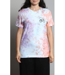 camiseta tie dye bike tripper