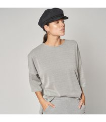 blusa gris prussia easy
