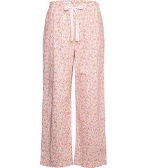 adult poplin pajama pants pyjamasbyxor mjukisbyxor rosa gap