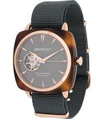briston watches clubmaster iconic watch - grey