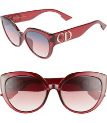 women's dior 56mm special fit cat eye sunglasses -