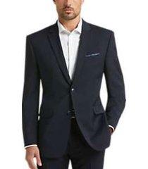 perry ellis premium navy slim fit suit
