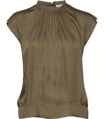 day lake blouses short-sleeved groen day birger et mikkelsen