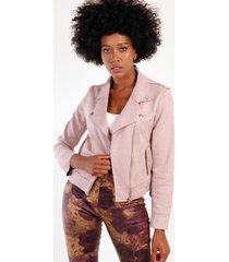 chaqueta gamuza eloiso rosado night concept
