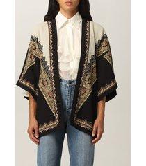 etro cape etro kimono with paisley and geometric motifs
