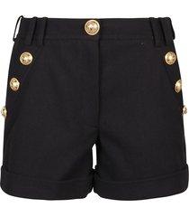balmain low rise shorts