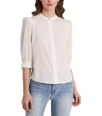 riley & rae iris puff-shoulder blouse, created for macy's