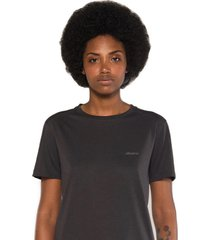 camiseta albedrío slim logo gris