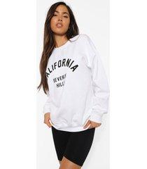 california sweater, white