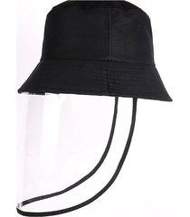 anti-escupir sombrero protector anti-polvo y anti-niebla tapa antipolvo hat
