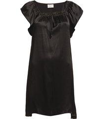 baby doll nachthemd negligé zwart lady avenue