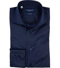 cavallaro dress overhemd navy