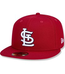 boné st. louis cardinals 5950 game cap fechado - new era