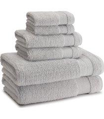 kassatex pergamon hand towel, size one size - grey
