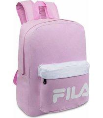 mochila fila rosa para mujer croydon