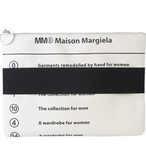 mm6 maison martin margiela designer handbags, clutch with elastic band